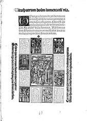 Opus praeclarum ... in vitas Patrum