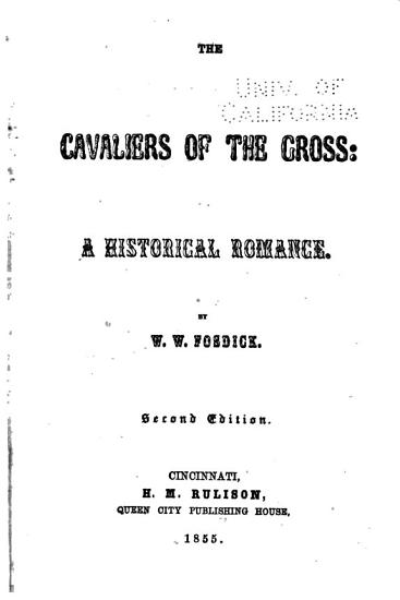 The Cavaliers of the Cross PDF