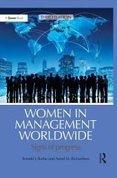 Women in Management Worldwide: Signs of progress, Edition 3