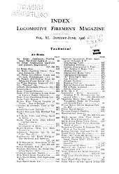 Brotherhood of Locomotive Firemen and Enginemen's Magazine: Volume 40