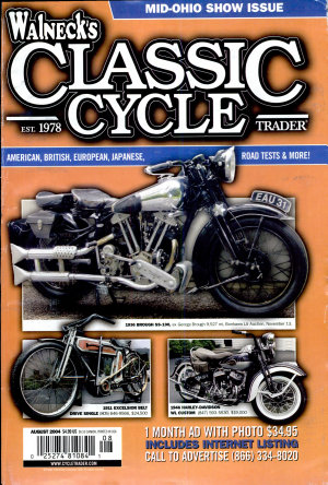 WALNECK S CLASSIC CYCLE TRADER  AUGUST 2004 PDF