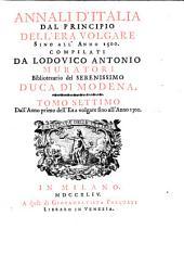 Annali d'Italia, dal principio dell'era volgare sino all' anno 1500: All' anno 1300
