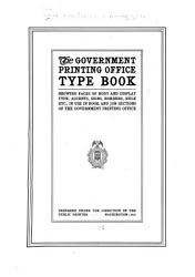 The Government Printing Office Type Book PDF
