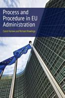Process and Procedure in EU Administration PDF