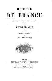 Histoire de France depuis 1789: Volume 1