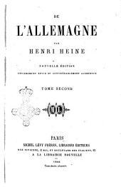 De l'Allemagne par Henri Heine: Volume2