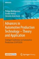 Advances in Automotive Production Technology     Theory and Application PDF