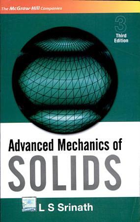 Advanced Mechanics Of Solids PDF