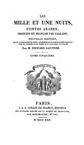 Les mille et une nuits: contes arabes, Volume5