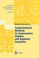 Computational Methods in Commutative Algebra and Algebraic Geometry PDF
