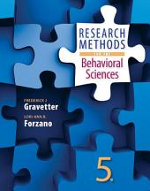 Research Methods for the Behavioral Sciences: Edition 5