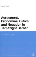 Agreement  Pronominal Clitics and Negation in Tamazight Berber PDF