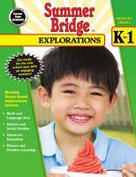Summer Bridge Explorations  Grades K   1 PDF