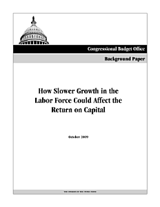 How Slower Growth in the Labor Force Could Affect the Return on Capital