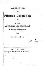 Ansichten der Pflanzen - Geographie