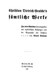 Sämtliche werke...: Hrsg. Mit textkritischen anhängen und der biographie des dichte, Band 1