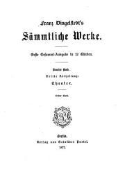 Franz Dingelstedt's sämmtliche Werke: Band 9