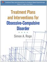 Treatment Plans and Interventions for Obsessive Compulsive Disorder PDF