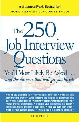 The 250 Job Interview Questions PDF