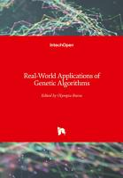 Real World Applications of Genetic Algorithms PDF