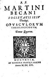 Opuscula theologica: Volume 4