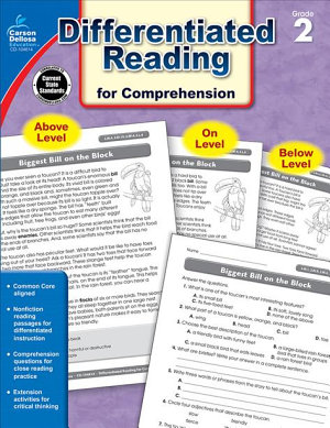 Differentiated Reading for Comprehension  Grade 2 PDF