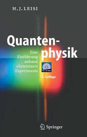 Quantenphysik: Eine Einführung anhand elementarer Experimente, Ausgabe 2