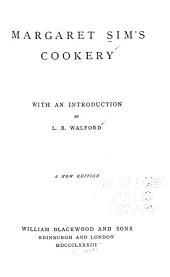 Margaret Sim's Cookery