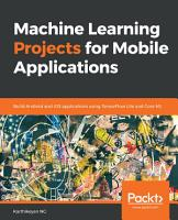 Machine Learning Projects for Mobile Applications PDF