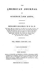American Journal of Science: Volume 33