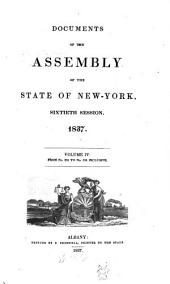 Documents of the Assembly of the State of New York: Volume 60, Issue 4
