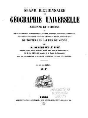 Grand dictionnaire de g  ographie universelle PDF