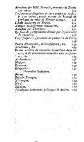 Journal encyclopédique: Volume4,Partie1