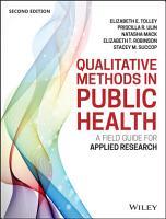 Qualitative Methods in Public Health PDF