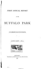 Annual Report of the Buffalo Park Commissioners