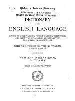Webster's Academic Dictionary