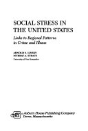Social Stress in the United States