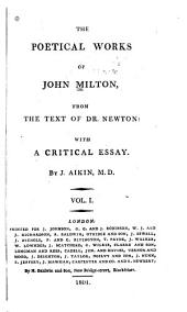 The Poetical Works of John Milton: From the Text of Dr. Newton, Volume 2
