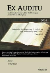 Ex Auditu - Volume 20: An International Journal for the Theological Interpretation of Scripture