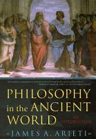 Philosophy in the Ancient World PDF