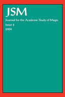 Journal for the Academic Study of Magic 2