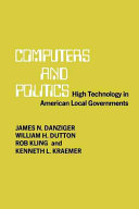 Computers and Politics PDF
