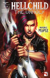 Hellchild The Unholy: Issue #1 Invisible People