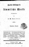 Jacob B  hme s S  mmtliche Werke PDF