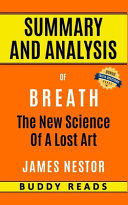 Download Summary and Analysis of Breath Book