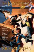 Heroes of Olympus  Book One  The Lost Hero  The Graphic Novel PDF