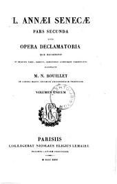 Pars Secunda Sive Opera Declamatotia ... Volumen Unicum: Seneca, Lucius Annaeus : 6