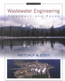 Wastewater Engineering  Treatment and Reuse PDF