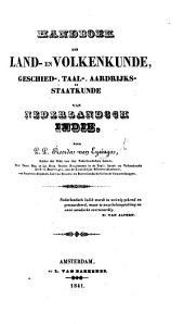 Handboek der land-en volkenkunde, geschied-, taal-, aardrijks-en staatkunde van Nederlandsch Indie. Boek 1, 2, 3: Delen 1-2