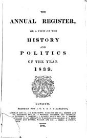The Annual Register: Or a View of the History, Politics and Literature, for the Year ..., Volume 11